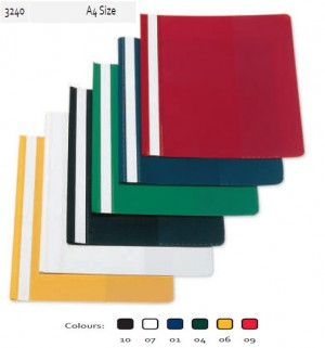 Supplier ATK Bantex 3240 Bussines File A4 with Label PP Harga Grosir