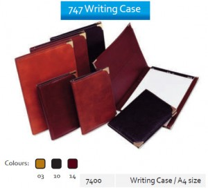 Supplier ATK Bantex 7400 747 Writing Case A4  Harga Grosir
