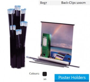Supplier ATK Bantex 8097-10 Poster Holder Back Clip 100 cm Harga Grosir