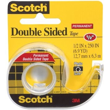 "Supplier ATK Scotch 3M 136 Doubletape 1/2"" x 250"" Harga Grosir"
