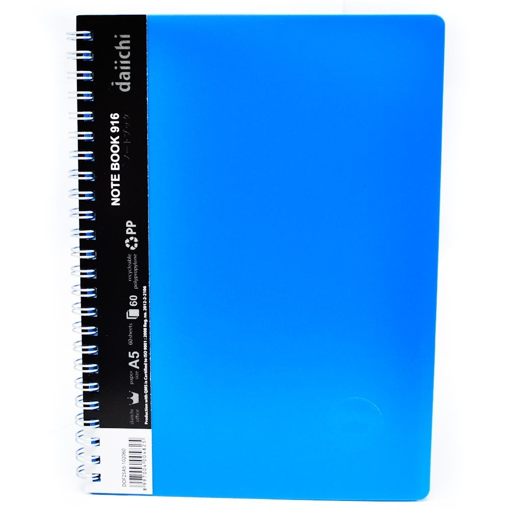 Supplier ATK Daiichi DPO25A5-202060 Note Book A5 Blue Harga Grosir