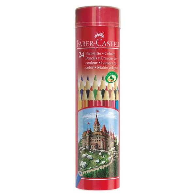 Supplier ATK Faber Castel 115827 Pensil Warna Round 24 L Harga Grosir