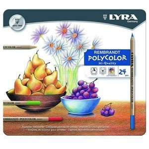 Supplier ATK Lyra 2001240 Pensil Warna Polycolor (24 Pcs /Box) Harga Grosir
