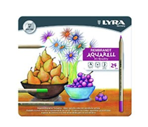 Supplier ATK Lyra 2011240 Pensil Warna Aquarel (24 Pcs /Box) Harga Grosir