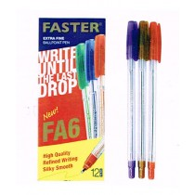 Supplier ATK Faster Ballpoint FA6  Biru Harga Grosir