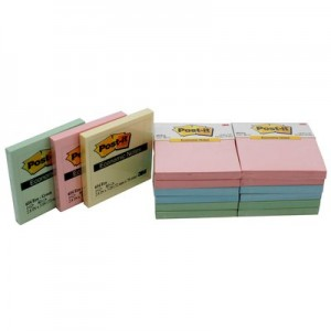 Supplier ATK Post-it 3M 654 Notes SSN Assorted Harga Grosir