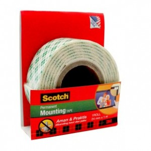 Supplier ATK Scotch 3M 110-1A Mountingtape 24mm x 1m  Harga Grosir