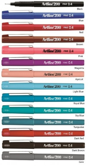 Supplier ATK Artline 200 Writing Pen Harga Grosir