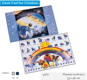 Supplier ATK Bantex 4162 Desk Pad for Planets Motives 33 x 46 cm Harga Grosir