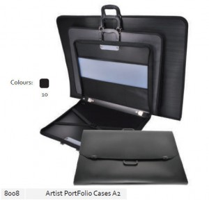 Supplier ATK Bantex 8008-10 Artist Portfolio Cases A2 Black Harga Grosir