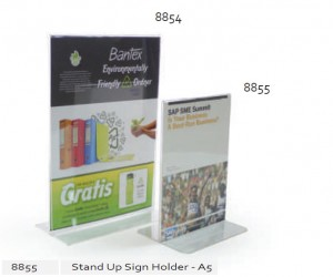 Supplier ATK Bantex 8855-08 Stand up Sign Holder A5 Harga Grosir