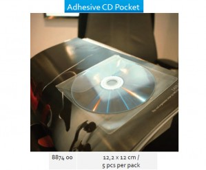 Supplier ATK Bantex 8874-00 Adhesive CD Pocket  Harga Grosir