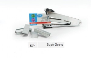 Supplier ATK Bantex 9331-00 Stapler with Staples Chrome Harga Grosir