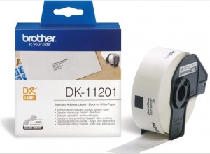 Supplier ATK Brother DK-11201 Standard Address Label (29mmx90mm) 400 labels Harga Grosir