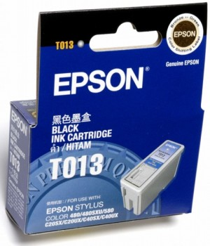 Supplier ATK Epson T013 Black Ink Cartridge Harga Grosir