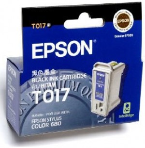 Supplier ATK Epson T017 Black Ink Cartridge Harga Grosir