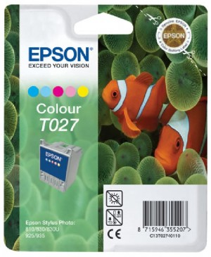 Supplier ATK Epson T027 Colour Ink Cartridge Harga Grosir
