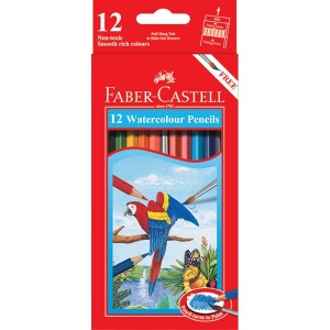 Supplier ATK Faber Castel 114461 Pensil Warna Cat Air 12 L Harga Grosir