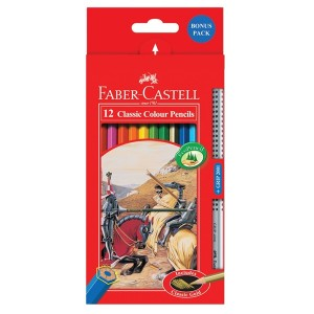 Supplier ATK Faber Castel 115852 Pensil Warna Classic 12 L Harga Grosir