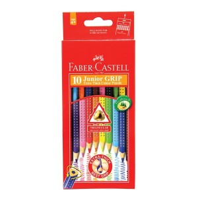 Supplier ATK Faber Castel 116260 Pensil Warna Grip 10 (Permanent) Harga Grosir