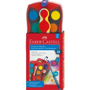 Supplier ATK Faber Castel 125029 Connector Paint Box 24 C Harga Grosir