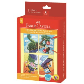 Supplier ATK Faber-Castell 159510C Mulberry Fibre Paint Set (castle) Harga Grosir