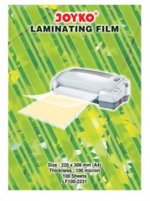 Supplier ATK Joyko Laminating Film LF100-2231 (A4) Harga Grosir