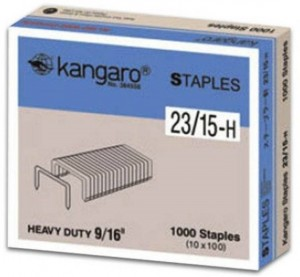 Supplier ATK Kangaro Isi Staples No.23/15-H Harga Grosir