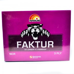 Supplier ATK Paperline Faktur Besar 3 Ply Harga Grosir