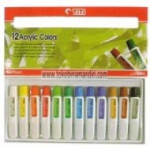 Supplier ATK TiTi Acrylic Color AC-12ML-12 Warna Harga Grosir